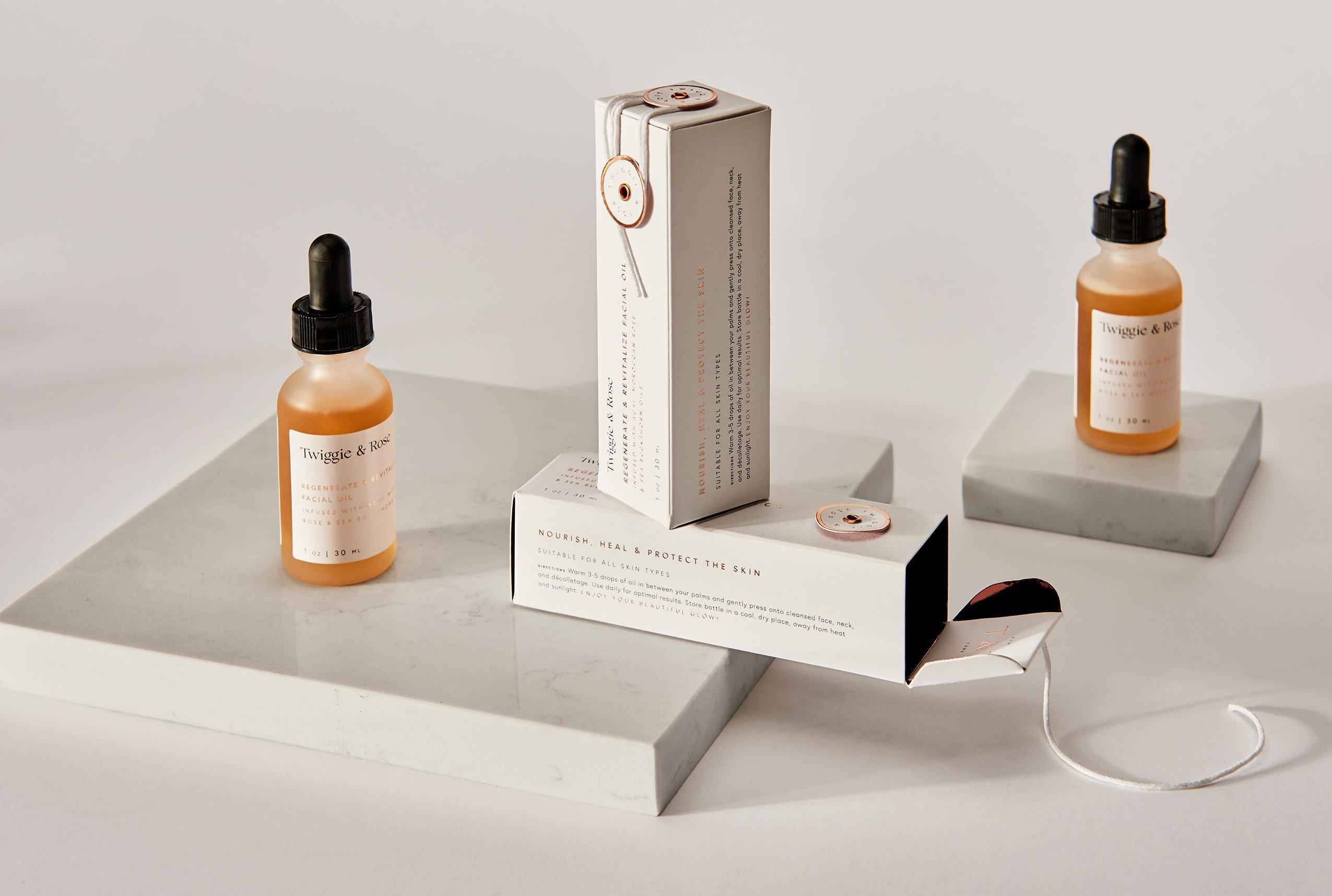 Mẫu hộp giấy đựng mỹ phẩm cao cấp thiết kế đơn giản, bắt mắt
